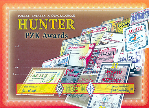 Hunter PZK Awards